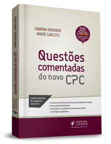 QUESTÕES COMENTADAS DO NOVO CPC